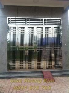 Cổng inox mẫu 16