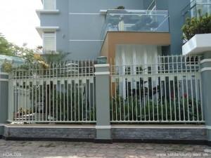 Hàng rào sắt mẫu 10