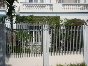Hàng rào sắt mẫu 12