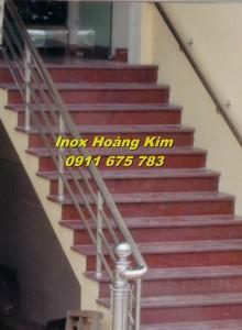 Cầu thang inox mẫu 19