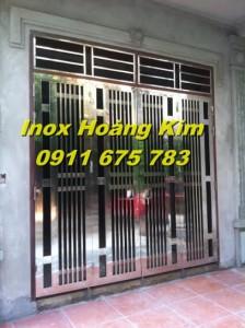 Cổng inox mẫu 19