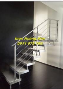Cầu thang inox mẫu 16