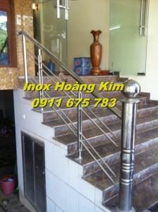Cầu thang inox mẫu 11