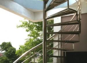 Cầu thang inox  mẫu 9