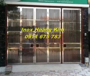 Cổng inox mẫu 21