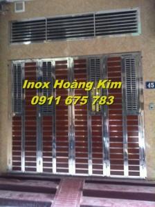Cổng inox mẫu 24