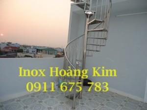 Cầu thang inox mẫu 26