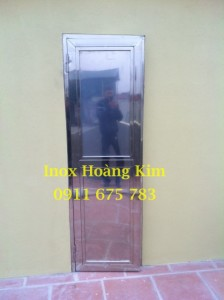 Cổng inox mẫu 27