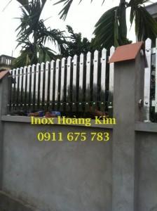 Hàng rào inox đẹp mẫu 3