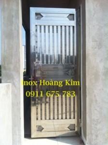 Cổng inox mẫu 28