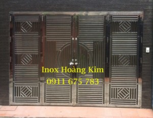 Cổng inox mẫu 29
