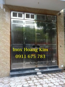 Cổng inox mẫu 31