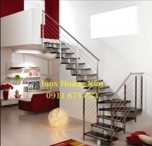 Cầu thang inox mẫu 27