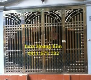 Cổng inox mẫu 32