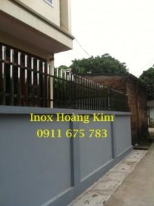Hàng rào inox đẹp mẫu 5