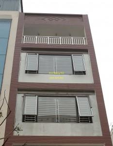 Sen hoa cửa sổ inox mẫu 2