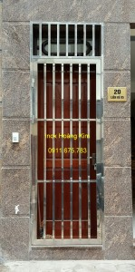 Cổng inox mẫu 40