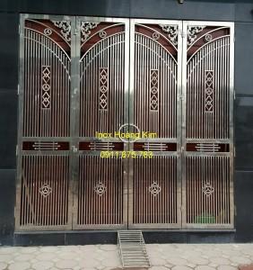 Cổng inox mẫu 43