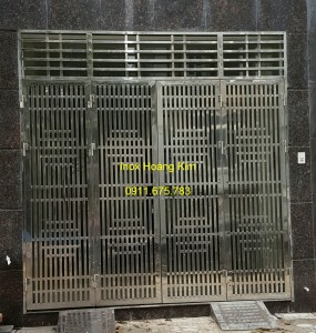Cổng inox mẫu 46