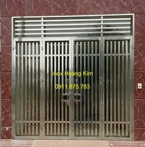 Cổng inox mẫu 47