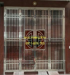 Cổng inox mẫu 49