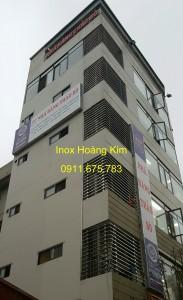 Lan can inox mẫu 18