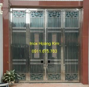 Cổng inox mẫu 50
