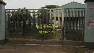 Cổng inox mẫu 51