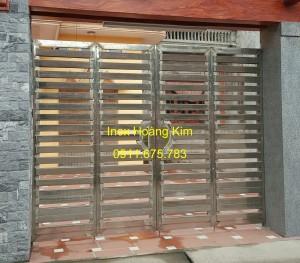 Cổng inox mẫu 52