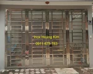 Cổng inox mẫu 53