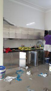 Tủ bếp inox mẫu 2