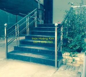 Cầu thang inox mẫu 39