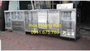 Tủ bếp inox mẫu 5