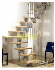 Cầu thang inox mẫu 28