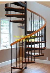Cầu thang inox mẫu 29