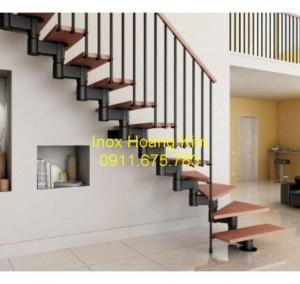 Cầu thang inox mẫu 30