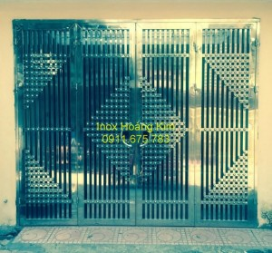 Cổng inox mẫu 35