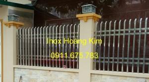 Hàng rào inox mẫu 11