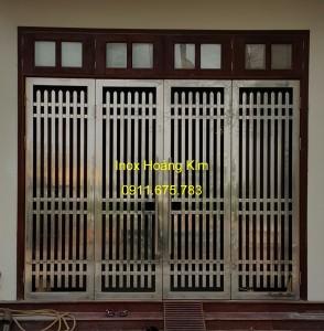 Cổng inox mẫu 58