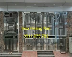 Cổng inox mẫu 60