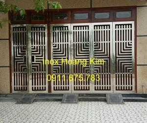 Cổng inox mẫu 61