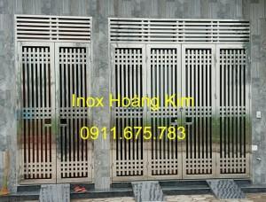 Cổng inox mẫu 63