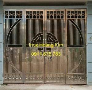 Cổng inox mẫu 64