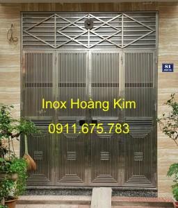 Cổng inox mẫu 65