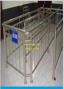 Cầu thang inox mẫu 45