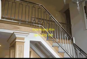 Cầu thang inox mẫu 46