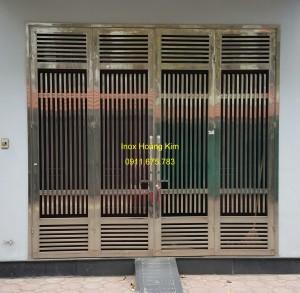 Cổng inox mẫu 72