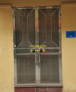 Cổng inox mẫu 73