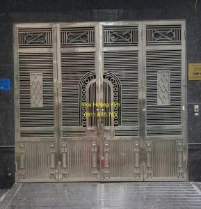 Cổng inox mẫu 76
