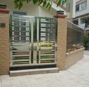 Hàng rào inox mẫu 18